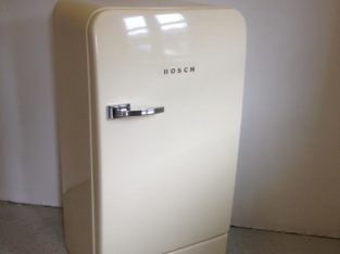Vintage, FABULOUS RETRO style Bosch fridge with freezer compartment