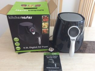 Digital air fryer, unused