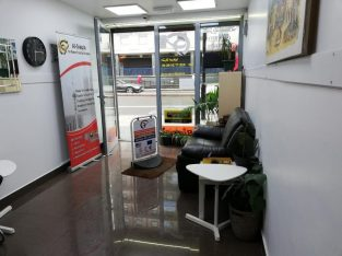 For Rent Front of shop, shop and basement for office