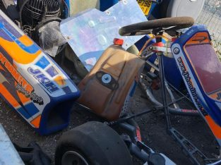 2009 Tkm race cart runs