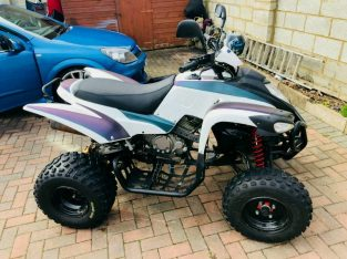 Quad bike road legal Adly ATV 400cc