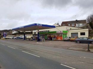 Main Road Gulf Branded North Devon Petrol Station