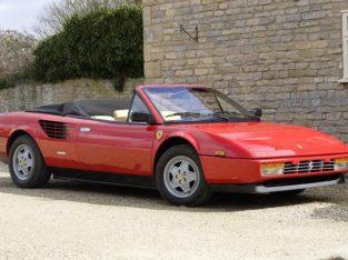 Simply Stunning Ferrari Mondial 3.2 Convertible LHD