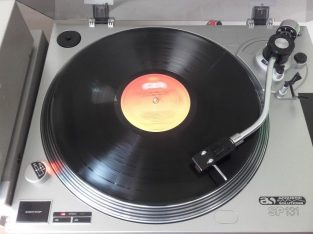 Turntable SP-131 – ACOUSTIC SOLUTIO