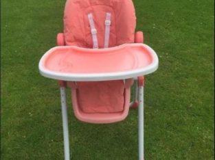 Coral High chair