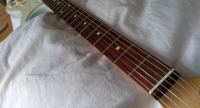 Classic Fender Stratocaster guitar