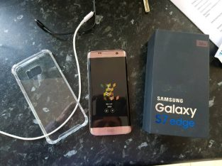 Pink Rose Gold Samsung Galaxy S7 Edge 32gb
