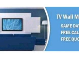 TV Aerial and TV WALL MOUNTING