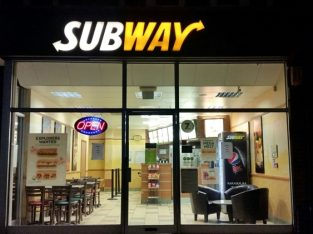 Leasehold Franchise Subway Sandwich Shop In Beaconsfield For Sale