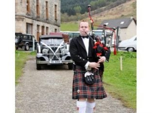 Bagpiper/Piper for Weddings Full Time