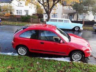 Rover 25 1.4 impression hatchback low milege