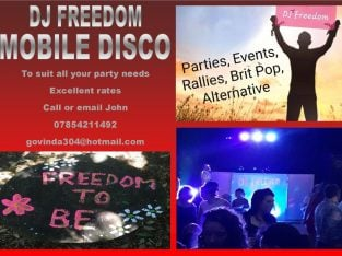 DJ freedom Mobile Disco